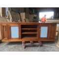 *Charity Sale* to offer support to bushfire Tassie oak tv unit  2000W | Wood World Furniture