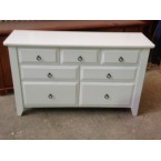 WASHINGTON 1390W SOLID TIMBER 7-DRAWER DRESSER