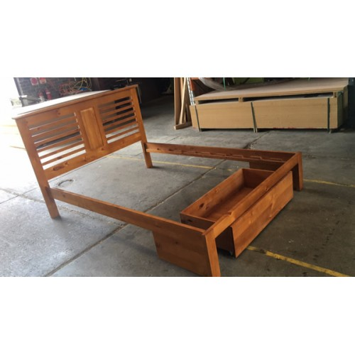 DAVIDSON Double BED  | Wood World Furniture