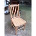 PINE CHAIR in RAW | Wood World Furniture