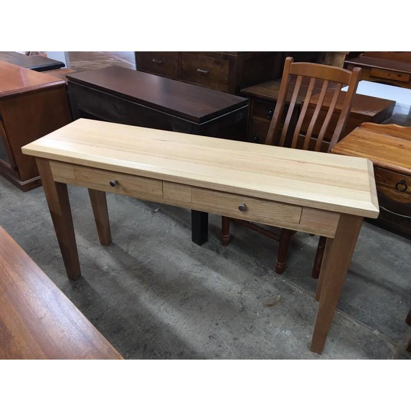 TASSIE OAK 1350W HALL TABLE [SPECIAL]  Wood World Furniture