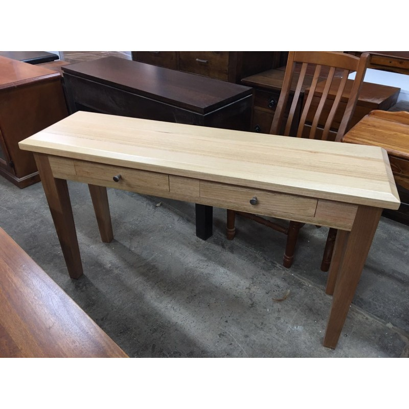 oak 1350w hall table special wooden furniture sydney timber tables