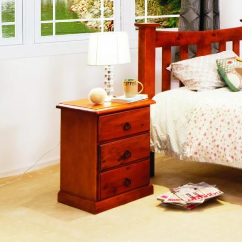 002 BEDSIDE | Wood World Furniture