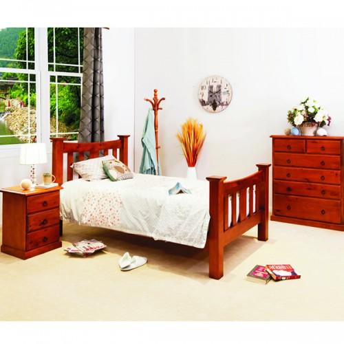 002 3PCE KING SINGLE BEDROOM SUITE | Wood World Furniture