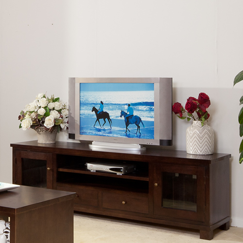 JAMES LUXURY HIGH END QUALITY MOUNTAIN ASH  TV UNIT | Wood World Furniture