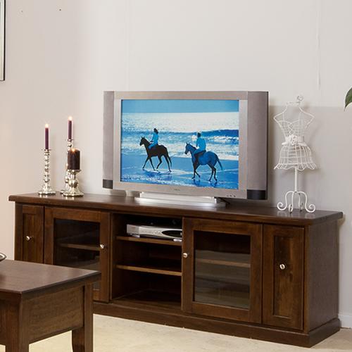 LOCAL MADE TASSIE OAK DINH TV UNIT | Wood World Furniture