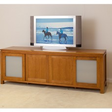 LOCAL MADE TASSIE OAK TV UNIT WTO-4