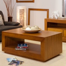 TASSIE OAK HIGH QUALITY HARDWOOD ELKE COFFEE TABLE