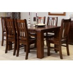 RUSTIC 1800 7PCE DINING SUITE (OUT OF STOCK)