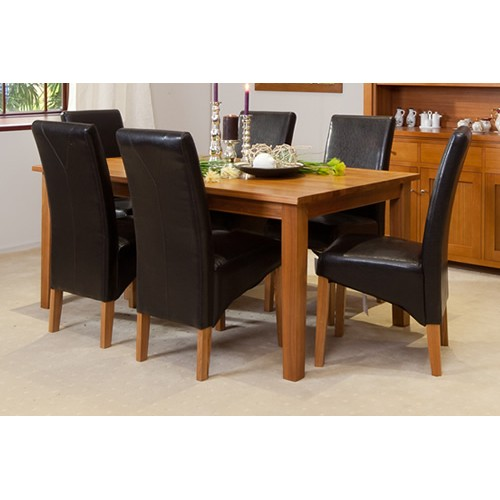 1st Choice [Floor Stock] MOUNTAIN ASH  FAIRHOLM DINING SUITE | Wood World Furniture