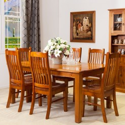 STRAIGHT LEGS DINING TABLE SUITE