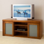 LOCAL MADE TASSIE OAK TV UNIT WTO-TV-1650