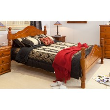 PROVINCIAL QUEEN BED [DISCONTINUED]