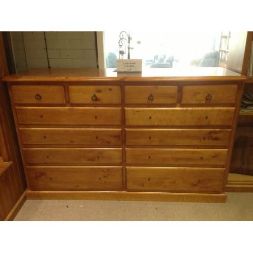 IMPORT12 DRAWERS TALLBOY | Wood World Furniture