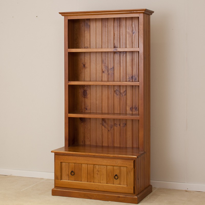 Local Made Pine Combo Bookcase 6 X 3 Wood World Furniture