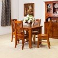 5 PCE STRAIGHT LEGS 900x900 DINING SUITE [DISCONTINUED] | Wood World Furniture