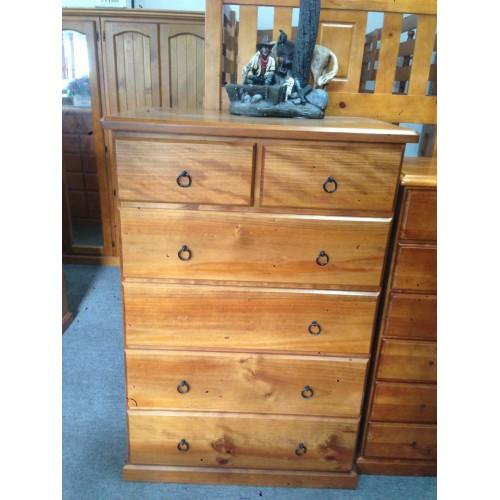 CL 6 DRAWERS BIG BOY | Wood World Furniture