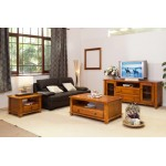 HB TV UNIT & COFFEE TABLE & LAMP TABLE PACKAGE