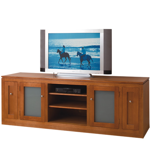 GSB2000 TASSIE OAK TV UNIT | Wood World Furniture