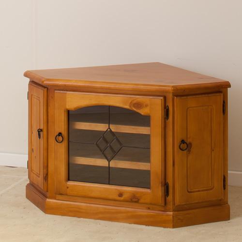 IMPORT PINE CORNER TV UNIT | Wood World Furniture