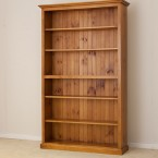 LOCAL MADE PINE BOOKCASE CL 7 x 4