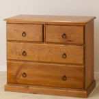 LOCAL MADE 4 DRAWERS LOW BOY