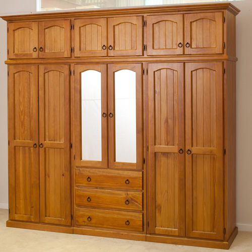 Cl 2400w Wardrobe In 4 Pieces Wooden Furniture Sydney Timber Tables Bedroom Furniture
