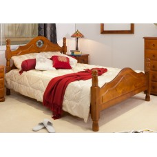 ROSE PROVINCIAL DOUBLE BED ONLY [DISCONTINUED]