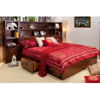 LIBRARY LUXURIOUS QUEEN BED