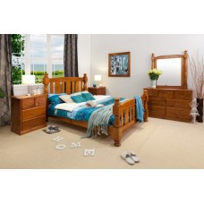 VICTORIA 4PCE QUEEN BEDROOM SUITE  (OUT OF STOCK)