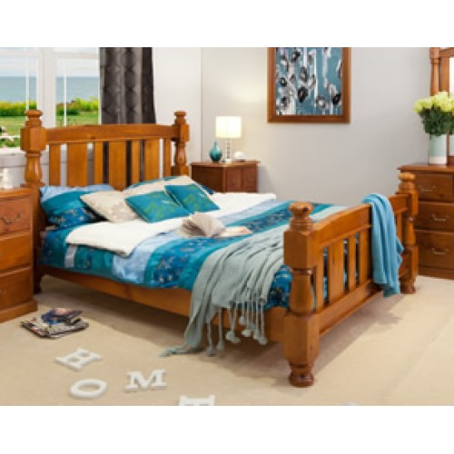 VICTORIA QUEEN BED [Discontinued] | Wood World Furniture