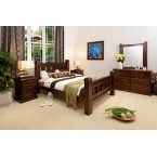 RUSTIC-DRESSER QUEEN BEDROOM SUITE