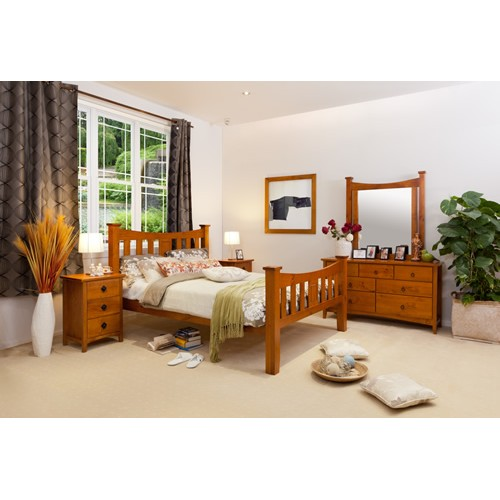 Seattle 4pce King Bedroom Suite Wooden Furniture Sydney Timber Tables Bedroom Furniture