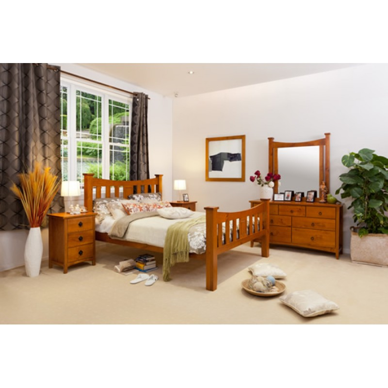 SEATTLE 4PCE DOUBLE BEDROOM SUITE Wooden Furniture Sydney . Timber ...
