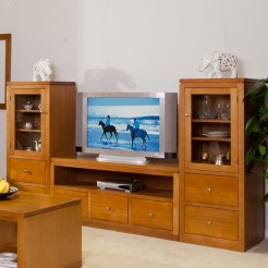 LOCAL MADE TASSIE OAK 3PCE TV UNIT