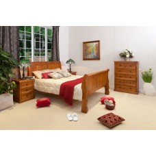SLEIGH 4PCE QUEEN  BEDROOM SUITE [DISCONTINUED]