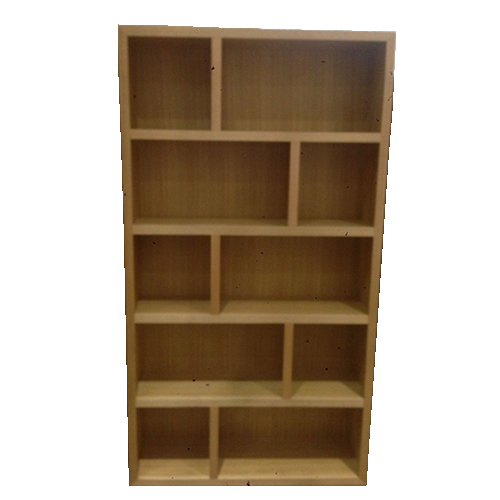 LOCAL MADE TASSIE OAK VOGUE BOOKCASE 1100W | Wood World Furniture
