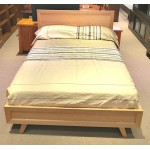 AMERICAN OAK  HARDWOOD KARI QUEEN BED