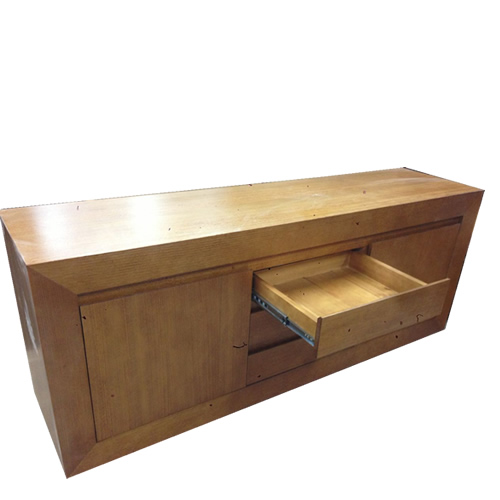 TASSIE OAK TV UNIT T15-TV  [LOCAL MADE] | Wood World Furniture