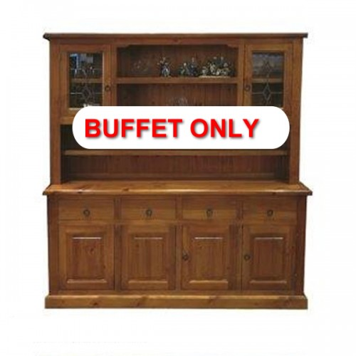 WBHT4/6 BUFFET | Wood World Furniture