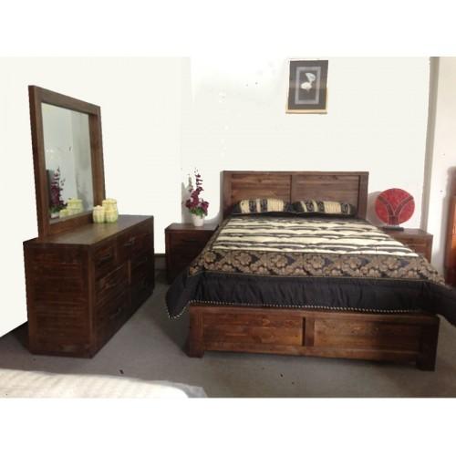 Auckland Queen Suite Wooden Furniture Sydney Timber Tables Bedroom Furniture Wooden