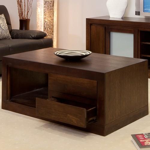 BRESSINGTON TASSIE OAK COFFEE TABLE PREMIUM QUALITY HARDWOOD | Wood World Furniture
