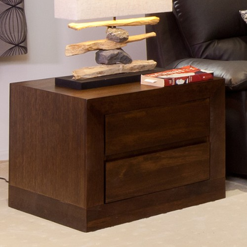 BRESSINGTON TASSIE OAK LAMP TABLE PREMIUM QUALITY HARDWOOD | Wood World Furniture