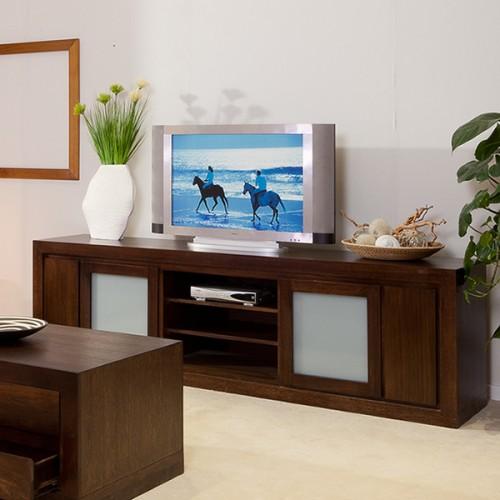 BRESSINGTON TASSIE OAK TV UNIT PREMIUM QUALITY HARDWOOD | Wood World Furniture