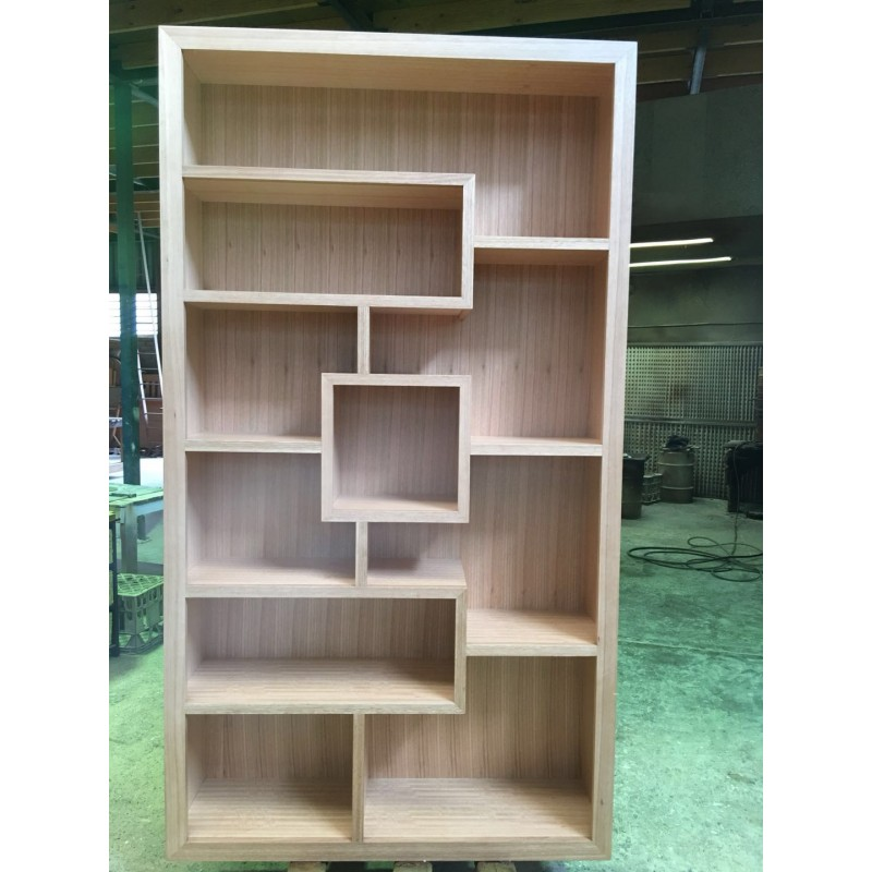 Custom Made Example Local Made Tassie Oak Bookcase Wooden