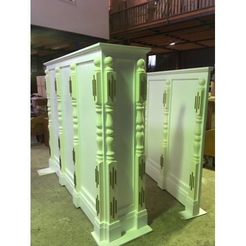 [CUSTOM MADE EXAMPLE] LOCAL MADE TASSIE OAK BOOKCASE | Wood World Furniture