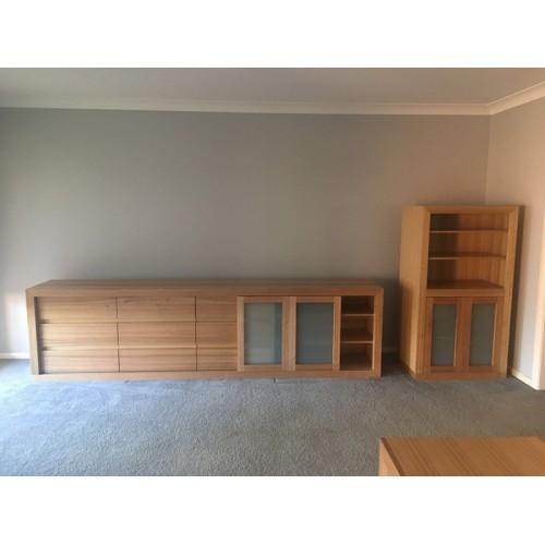 [Custom Made Example] Local made HIGH QUALITY Tassie OAK HARDWOOD Cabinet | Wood World Furniture