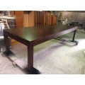 [Custom Made Example] Local made HIGH QUALITY Tassie OAK HARDWOOD TABLE | Wood World Furniture