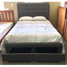 FABRIC KING SIZE BEDFRAME