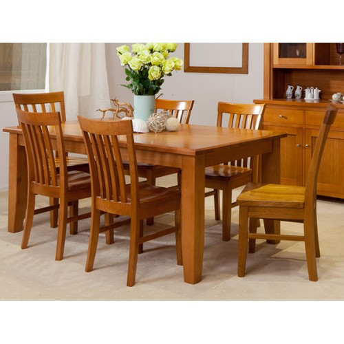 FAIRHOLM HIGH QUALITY TASSIE OAK DINING SUITE  | Wood World Furniture